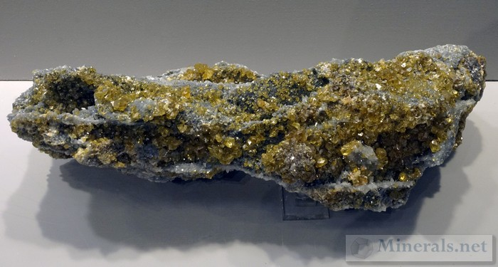 Yellow Sphalerite from the Hyatt Mine, Talcville, St. Lawrence Co., NY
