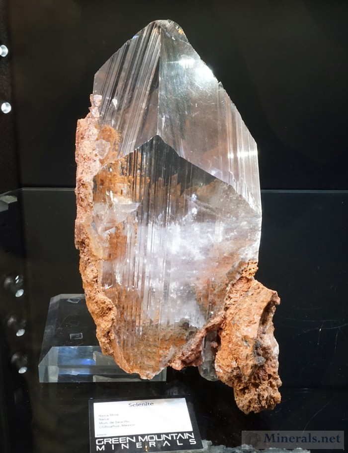 Giant Selenite Crystals from Naica, Chihuahua, Mexico