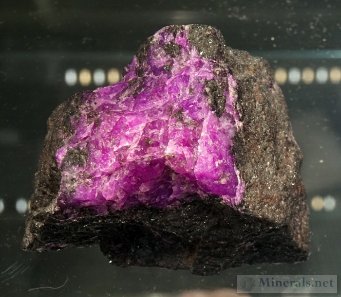 New Grainy form of Sugilite from the N'chaning Mines, Kalahari Manganese Fields, South Africa