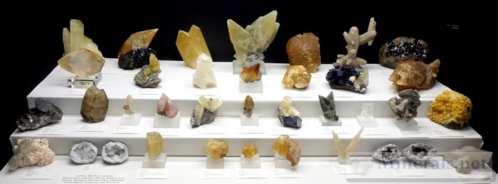 Calcite from Midwest Localities Chuck Houser