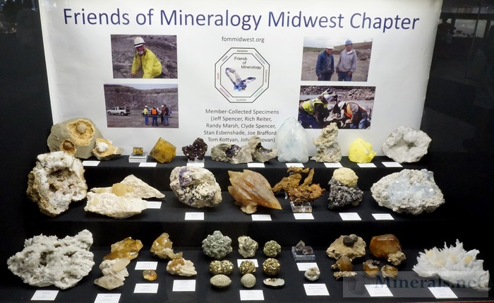 Friends of Mineralogy Midwest Chapter, Member Collected Specimens