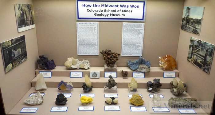 >How the Midwest was Won Colorado School of Mines Geology Museum