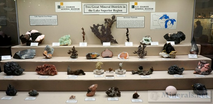 Two Great Minerals of the Lake Superior Region A.E. Seaman Mineral Museum