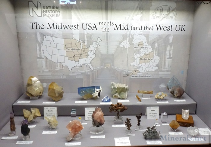 The Midwest USA Meets the Mid (and the West) UK The British Natural History Museum
