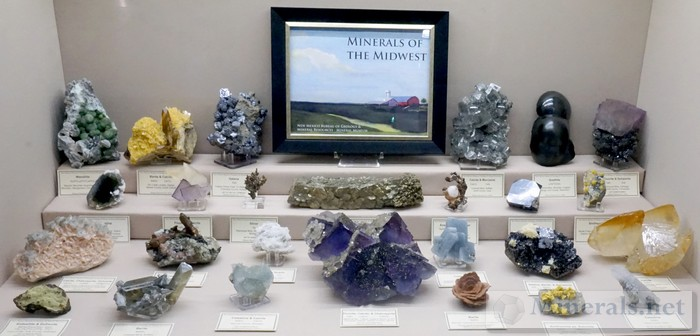 Minerals of the Midwest<br><i>New Mexico Bureau of Geology &amp; Mineral Resources - Mineral Museum