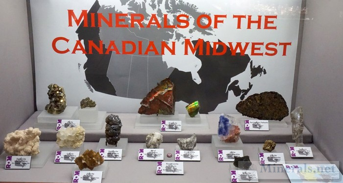 Minerals of the Canadian Midwest ROM - Royal Ontario Museum