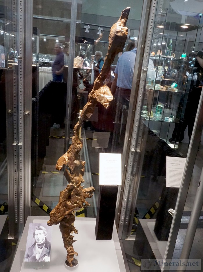 Giant Dendritic Copper from the Lake Superior Region The British Natural History Museum<