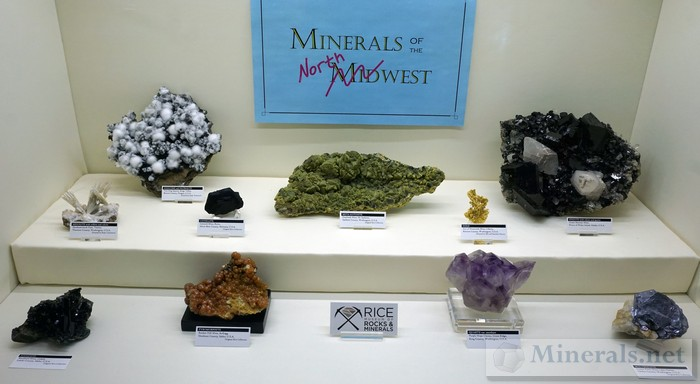 Minerals from the Northwest Rice Museum of Rocks & Minerals