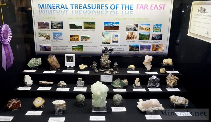 Mineral Treasures of the Far Fersman Mineralogical Museum, Moscow