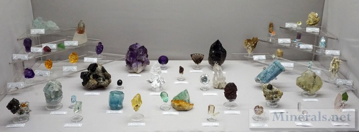 Misc Minerals and Gemstones Tucson Show