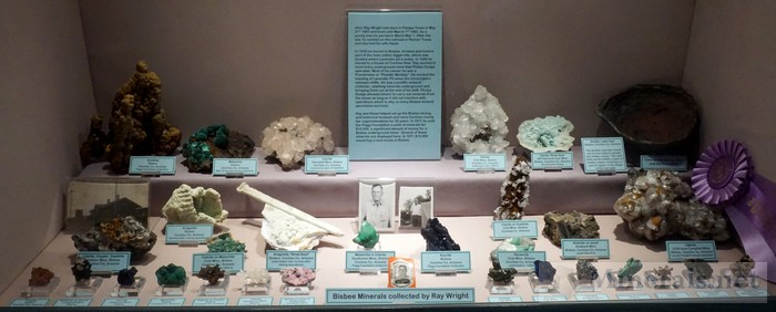 Bisbee Minerals Collected by Ray Wright