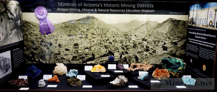Minerals of Arizona's Historic Mining Districts - Arizona Mining, Mineral, and Natural Resources Education Museum