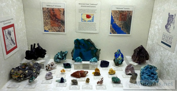 Minerals from the Midwest Arizona and Sonora Arizona-Sonora Desert Museum