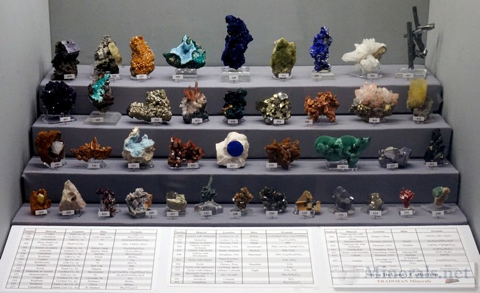 Minerals of the Steve DeLaney Collection