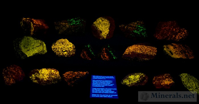 Fluorescent Wollastonite from the Sterling Hill Mine, Ogdensburg, NJ