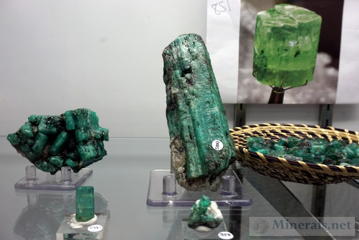 Additional Emeralds from New Ethiopia Discovery TJ's Rocks