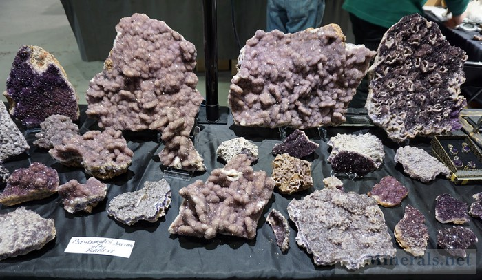 New Find of Amethyst from Turkey Alacam Mining