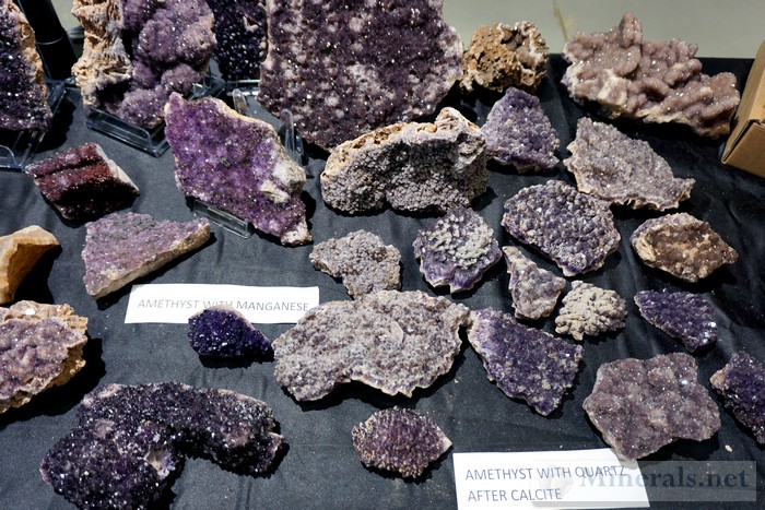 Additional Amethysts from Turkey Alacam Mining
