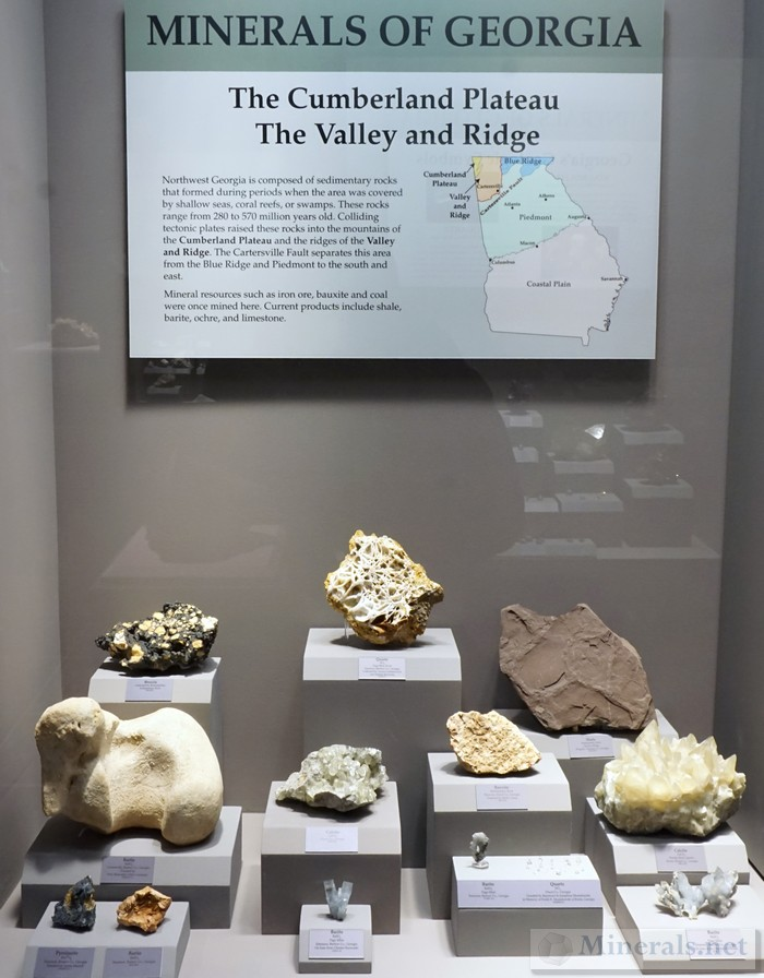 The Cumberland Plateau, Valley & Ridge