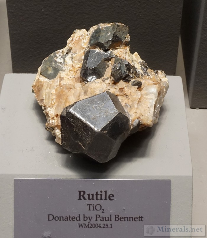 Exceptionally Formed Rutile Crystal
