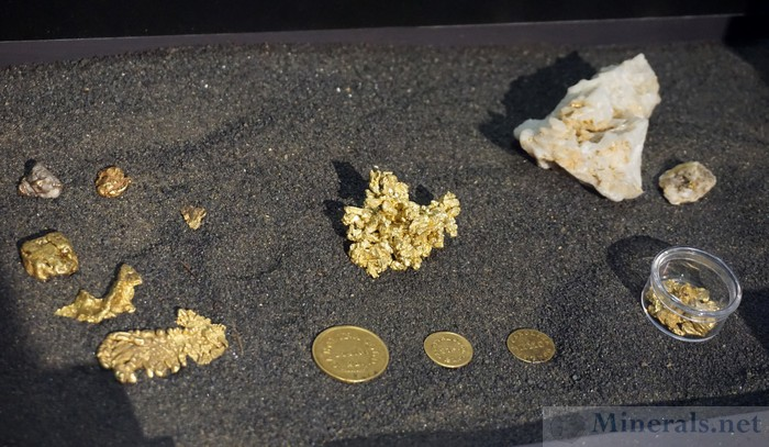 Gold from the Reed Mine in N.C., the First Gold Mine in the U.S.
