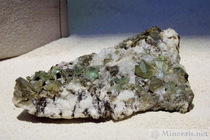 Large Matrix Hiddenite Specimen