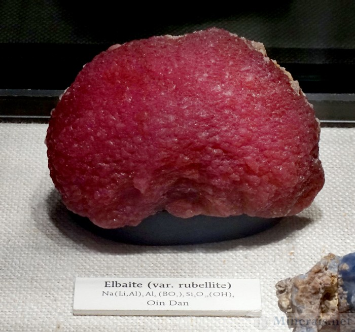 Red Mushroom Elbaite Tourmaline from Mogok, Burma
