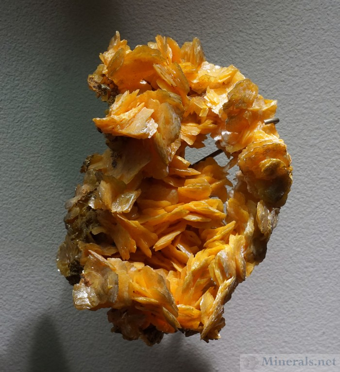 Wulfenite from Hillsboro, New Mexico