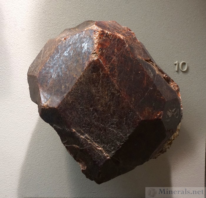 Large Almandine Garnet from Manhattan Island, New York City