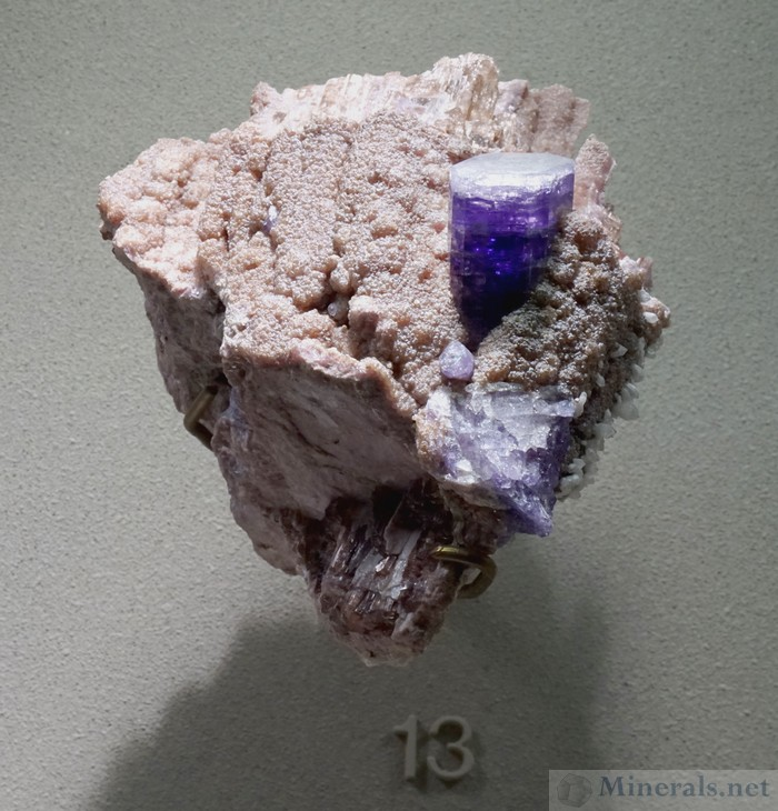 Purple Apatite from Auburn, Maine