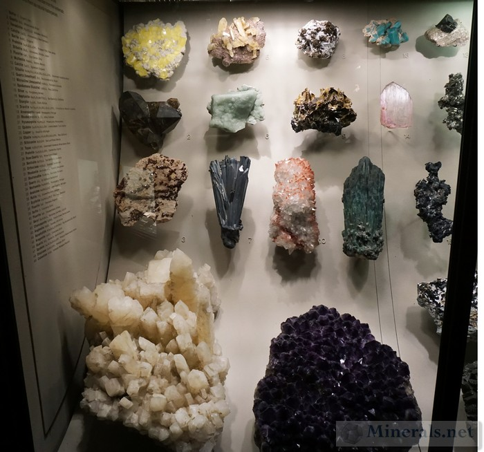 Another Case of Exceptional Display Minerals