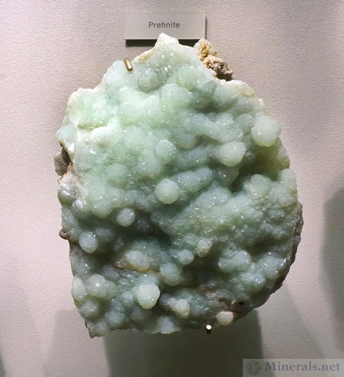 Prehnite from Paterson, NJ