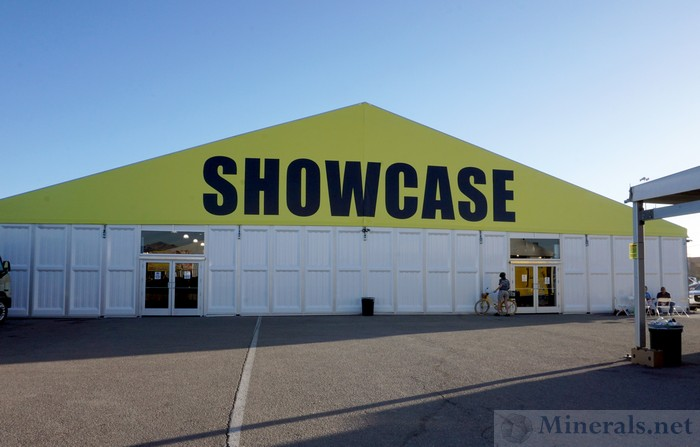 New Showcase Tent with Exhibits and Higher-End Dealers