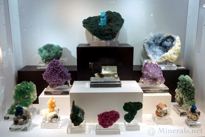 Highly Colorful Display in the Showcase Area of The Arkenstone