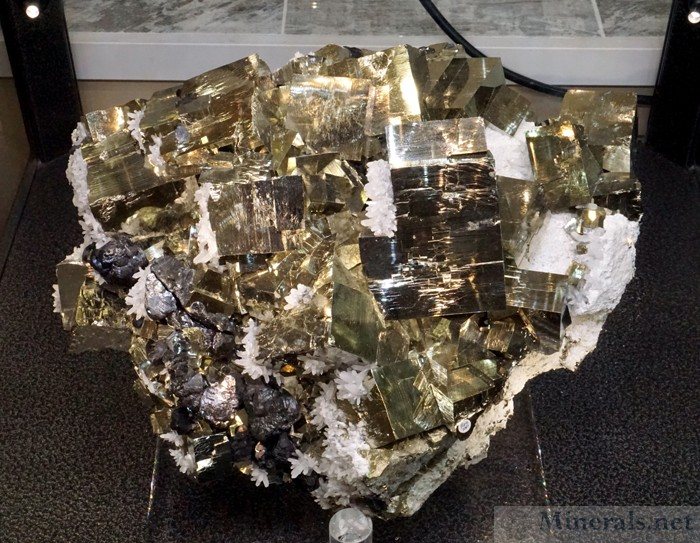 Newly Mined Large Pyrite Crystals (2017) from Huanzala, Peru, Crystal Springs Mining & Jewelry Co.