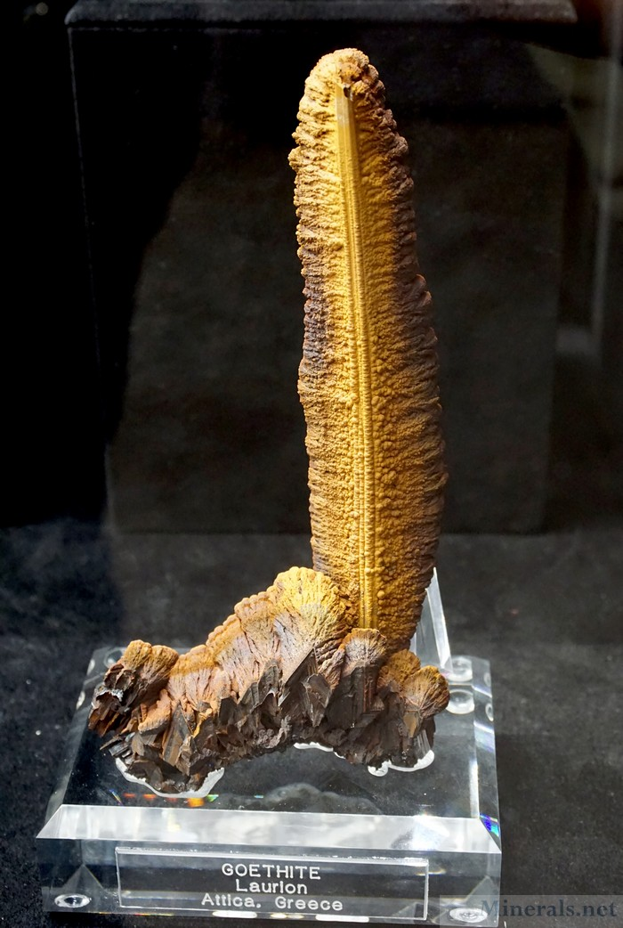 Elongated Goethite from Laurion, Greece