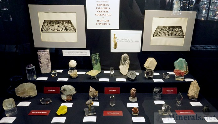 Selections from Charles Palache's Crystal Collection at Harvard University Mineralogical & Geological Museum at Harvard University