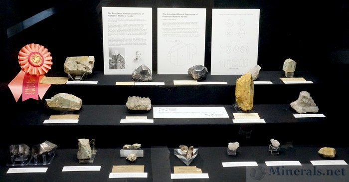 The Annotated Mineral Specimens of Professor Matthew Heddle National Museums Scotland