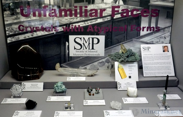 Unfamiliar Faces: Crystals with Atypical Forms Society of Mineral Museum Professionals