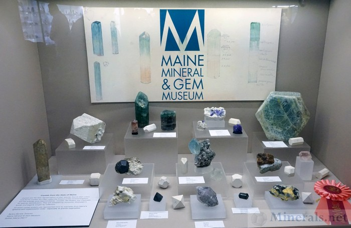 Minerals from the State of Maine Maine Mineral & Gem Museum