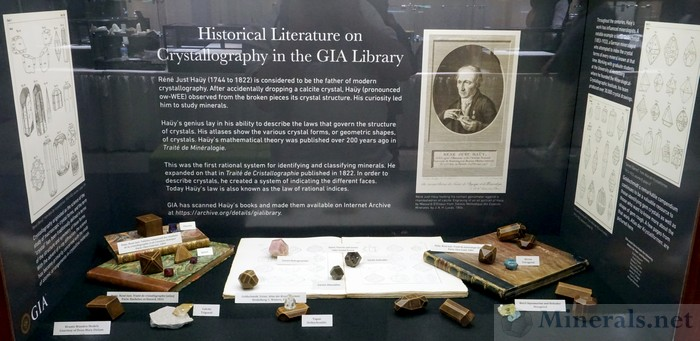 Historical Literature on Crystallography in the GIA Library