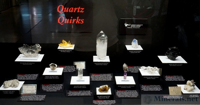 Quartz Quirks Carnegie Museum of Natural History