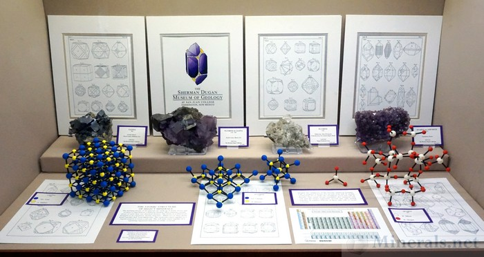 The Atomic Structure of Select Minerals The Sherman Dugan Museum of Geology at San Juan College, Farmington, New Mexico