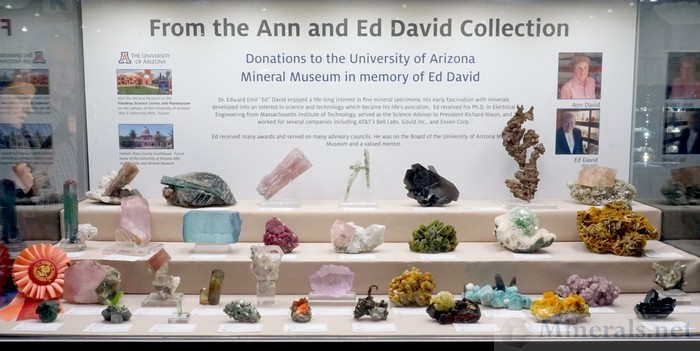 From the Ann and Ed David Collection University of Arizona Mineral Museum