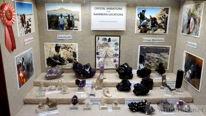 Crystal Variations from Namibian Localities, Brad and Linda Ross Family Collection
