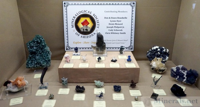 Crystals and Crystal Forms, Mineralogical Society of Arizona