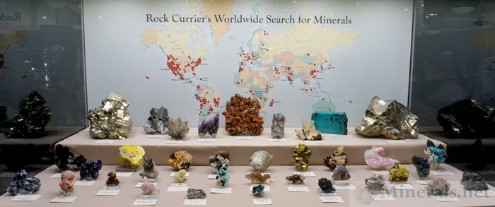 Rock Currier's Worldwide Search for Minerals