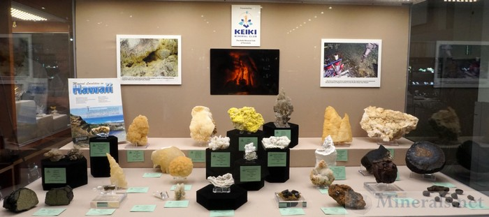 Mineral Localities in Hawaii from the Keiki Mineral Club of Honolulu