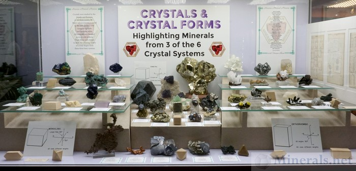 Highlighting Minerals from 3 of the 6 Crystal Systems from the Arizona Mineral Minions