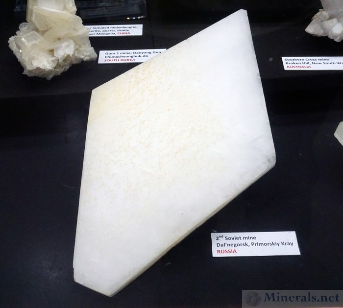 Odd-Shaped Calcite Crystal from the 2nd Soviet Mine, Dal'negorsk, Russia, Cincinnati Museum Center